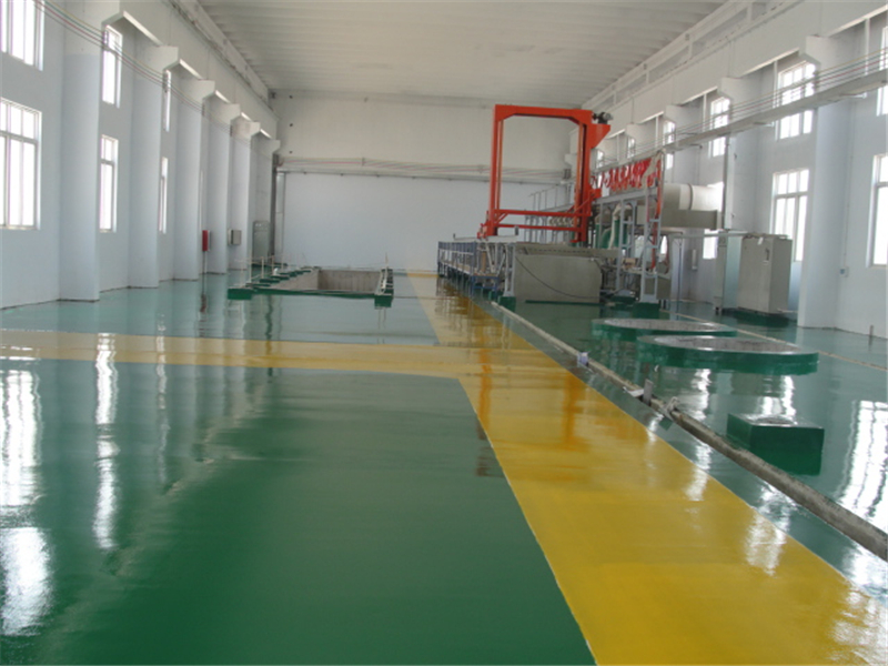 workshop epoxy flooring