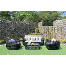 Eagle Collection - Amazing Polyethylene Rattan Sofa set for Outdoor Garden Furniture