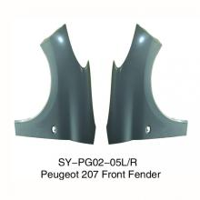 Front Fenders for Peugeot 207
