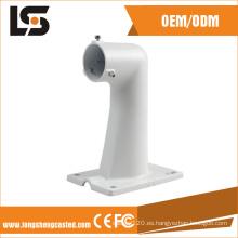 20 años de experiencia en la fábrica de aluminio CCTV Camera Bracket en China impermeable