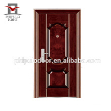 Chinese main gate design heat transfer entrance steel door for decorating houses