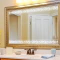 Алюминиевое зеркало / Ванная / Мебель / Очистить Серебряное зеркало / Медь бесплатно Серебряное зеркало