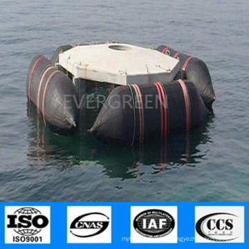 ISO Approved High Quality Natural Rubber Boat Ship Vessel Marine Airbags