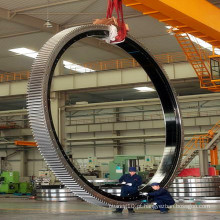 Rolamento de anel de giro de tamanho grande Zys para máquinas de construção