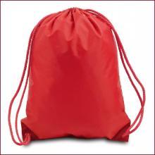Nylon drawstring swim backpack pouch