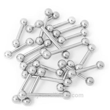Mixed Piercing Barbells 8 10 mm Gauge and Mixed Lengths - 316L