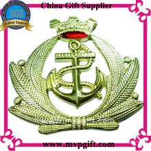 Металлический знак полиции для военного подарка