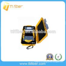 Желтый цвет Волоконно-оптический рефлектометр Запуск кабельного короба