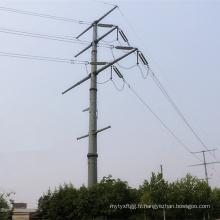 Pôle de transmission de puissance multi-circuits en acier