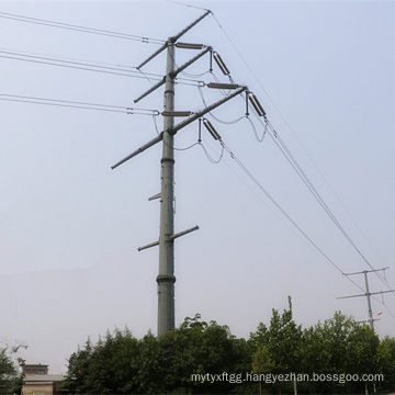 Multi Circuit Steel Power Transmission Pole