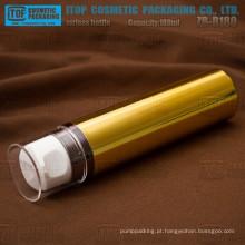 ZB-B180 linda 180ml e garrafa de customizable loção sem ar alto e grande de cor estável única camada
