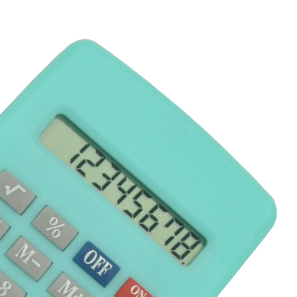 Öğrenciler için Mini Candy Color Cute Pocket Calculator