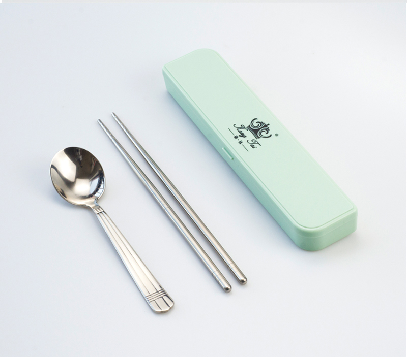 Food Chopsticks with Storage Box