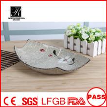 Placa de cerâmica de cerâmica, placa de cerâmica e prato, placas de cerâmica você decorar