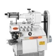 Máquina de costura de Overlock fixação elástica