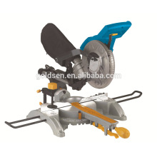 """210mm 8-1 / 4 """"máquina de corte de madera de 1400W Electric Power Sliding Mitre Saw doble Mitre Saw"""