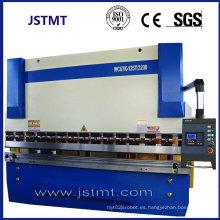 Máquina de freno hidráulico de la prensa del gabinete eléctrico de la hoja del metal (WC67Y-100T 3200)