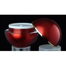 Jy216 50g redonda frasco cosmético com qualquer cor