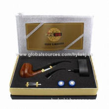 2014 new technology wooden high quality e-smoking pipe on hot sale