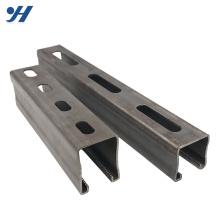 Canal en acier profilé laminé à froid en acier inoxydable Unistrut