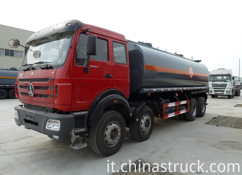 North Benz 30000 liters HCL tank truck