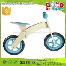 Fábrica de Yuhe al por mayor simple y bicicleta de madera de moda para niños