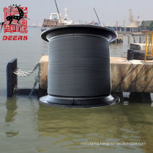 Customized size super cell rubber fender for protecting port
