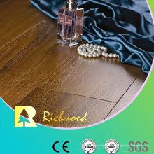 Assoalho laminado sulcado comercial da noz de cristal de 12.3mm HDF AC3 V