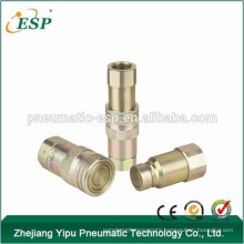 AS-PT flat face type hydraulic quick coupling(steel)