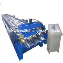 Máquina de formação de rolo de folha de aço para andar de chão