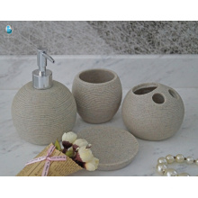 Chinesische Manufaktur besten Preis zu Hause Hotel Bad Bad Zubehör Kunststoff Bad-Set