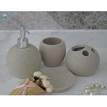 Chino manufactura mejor precio casa hotel aseo baño accesorio conjunto de baño de plástico