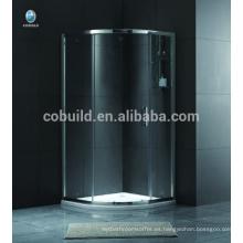 K-551 Europa y África simple pequeña sala de ducha de cristal independiente