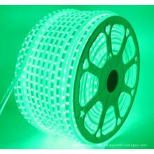 Luces de tira flexibles del RGB LED de la CA 110-120V, 60 LED / M, prenda impermeable, multicolor que cambian la luz de la cuerda del LED 5050 SMD