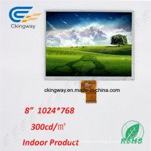 Smart Home Appliance Tela de alta resolução LCD TFT LCM Touch Overlay LCD Display