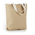 Oversize jute shopping bags put bread sticks,toast