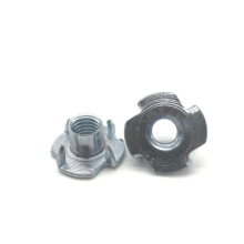 High quality Zinc Plated 4 Claws furniture nut