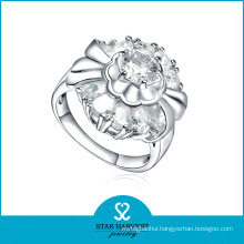Charming Spark Silver Ring Jewellery with CZ (R-0600)