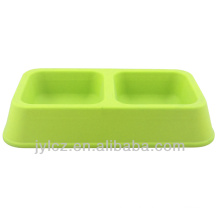 plastic pet food bowls