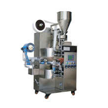 Automatic tea packing machine with inner and outer bag