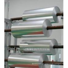 Folha de alumínio industrial para fita adesiva / Folha de cabo com liga 8011, 1235, 1050, 1060, 1035, 1145, 1100, 1200