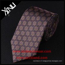 Cravate tissée de soie d'usine de la Chine pour les hommes dernière conception 2016 nouveau