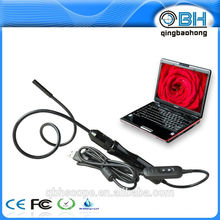 Boroscopio de video digital fácil de usar de enfoque manual