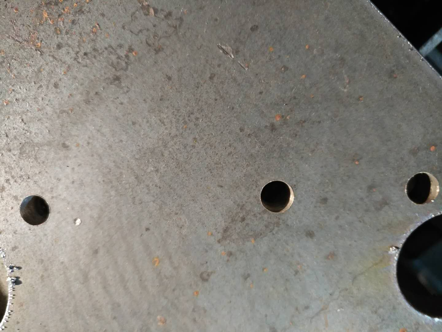 plasma cutting drill sample
