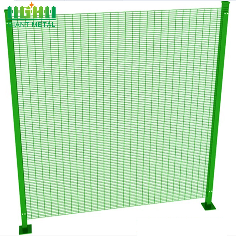 Welded High Security Anti Climb 358 Fence
