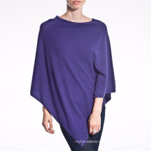 15PKCSP08 cashmere poncho knit