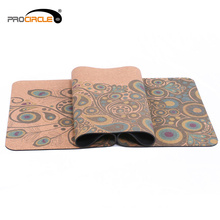 Customizable Pattern Fitness TPE Cork Yoga Mat