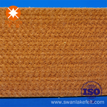 China PBO And Kevlar Felt Cooling Table Pad For Aluminium Extrusion - Table pad manufacturers
