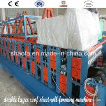 Профилегибочная машина для производства двухслойных панелей пола (AF-D836 / 900)