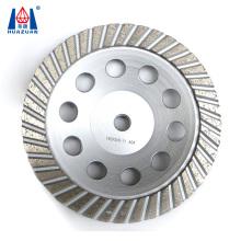 Huazuan 180mm segment turbo diamond cup grinding wheel